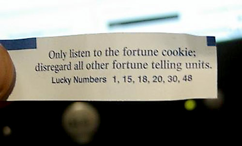 Fortune cookie picture