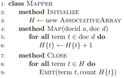 In-mapper combiner pattern for MapReduce | Isaac Slavitt